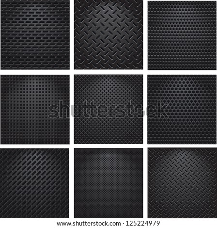 set metal grids