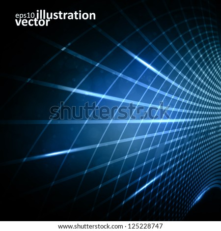 abstract vector futuristic