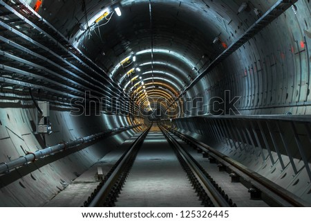 underground facility with a big