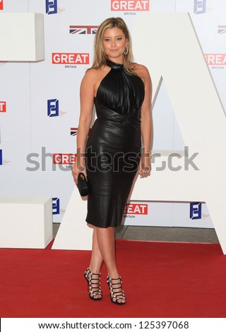 holly valance at the the uk's