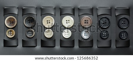 different buttons to be chosen