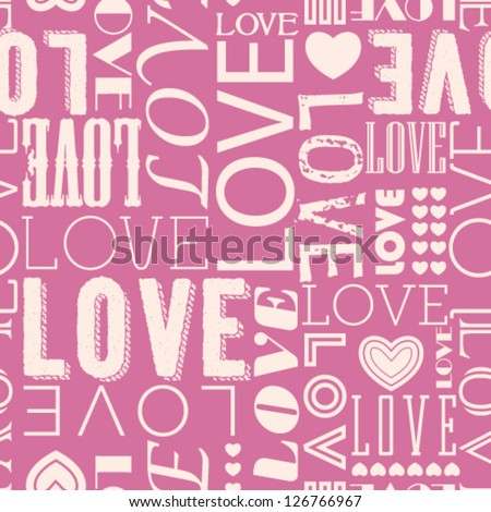 vector seamless love heart