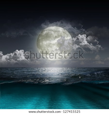 magical evening on the ocean