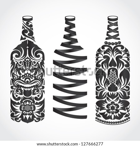 bottle ornament