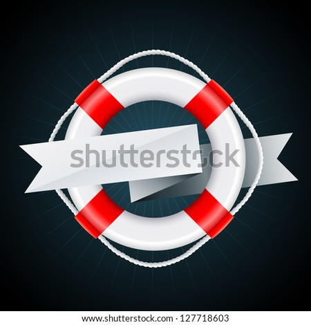 nautical emblem vector eps8