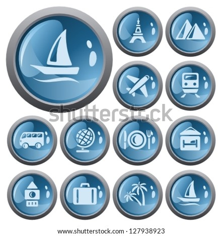 travel button set