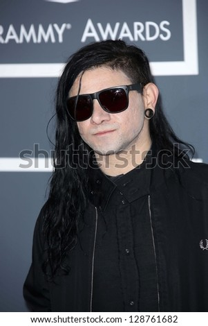 skrillex at the 55th annual