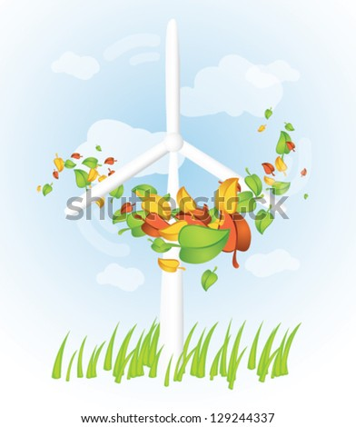 wind turbine with swirling