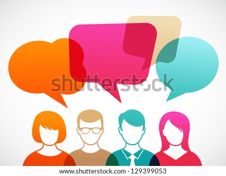 stock-vector-people-icons-with-colorful-dialog-speech-bubbles