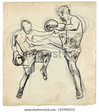 muay thai  combat martial art
