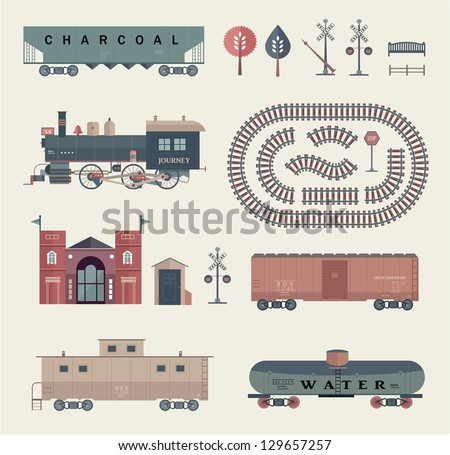 vector train set
