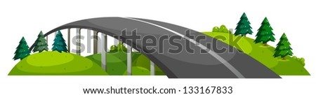 illustration of a road at the