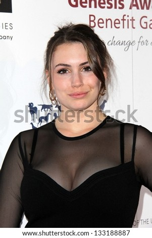 sophie simmons at the 2013