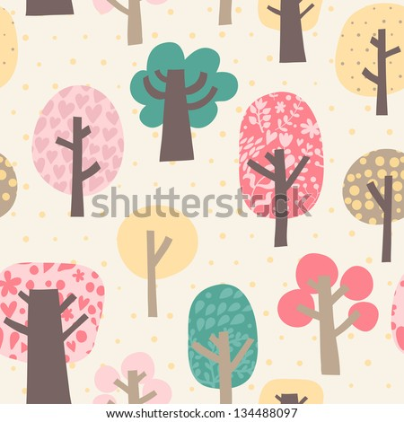 cute vector pattern with