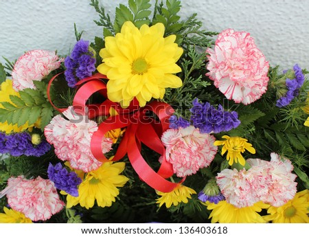 colorful wreaths  for anzac day