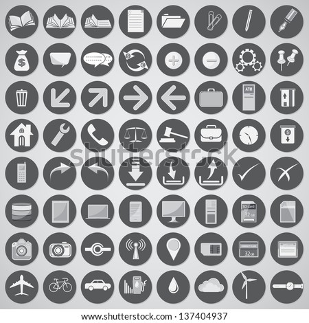 vector univeral icons for web