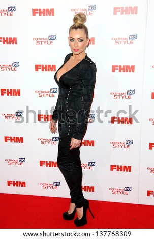 gemma merna arriving for the