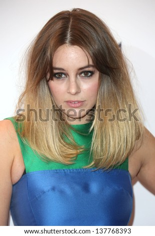 keeley hazell arriving for the