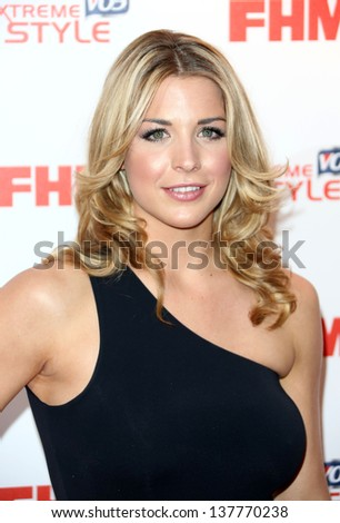 gemma atkinson arriving for the