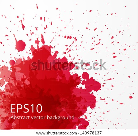 red grunge background with