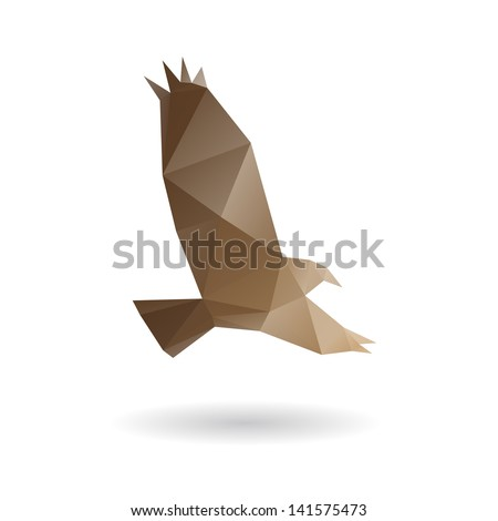 eagle isolated on a white