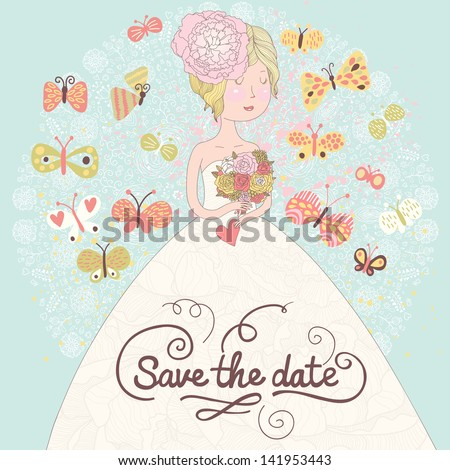 cute romantic wedding