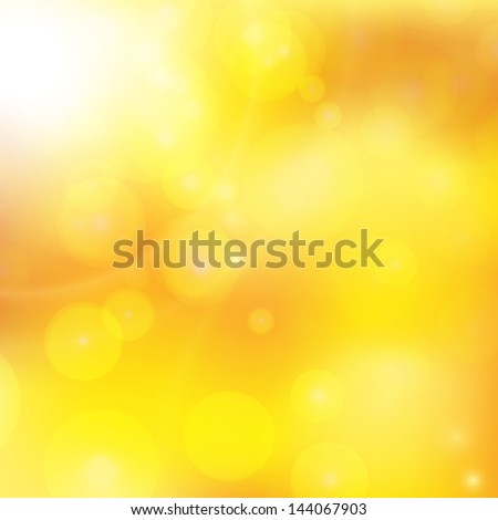 abstract background with orange