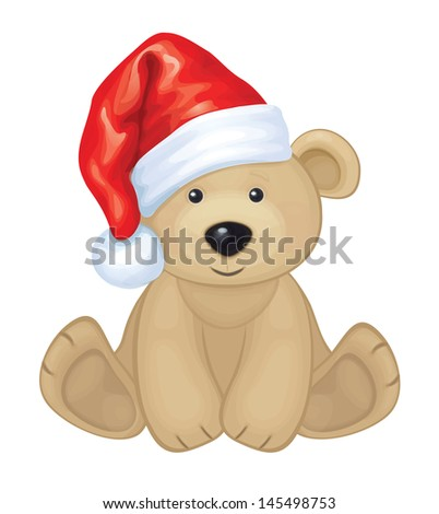 vector of cute brown bear in
