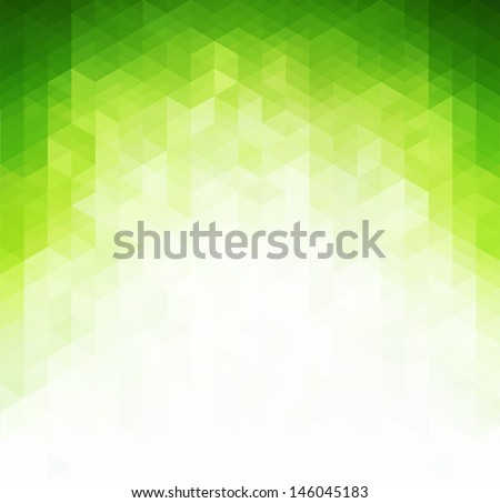 abstract green light background