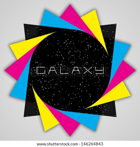 modern galaxy design   eps10