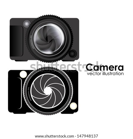 camera design over white