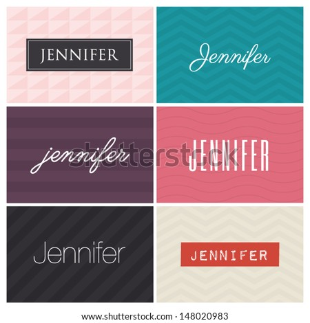 name jennifer  graphic design