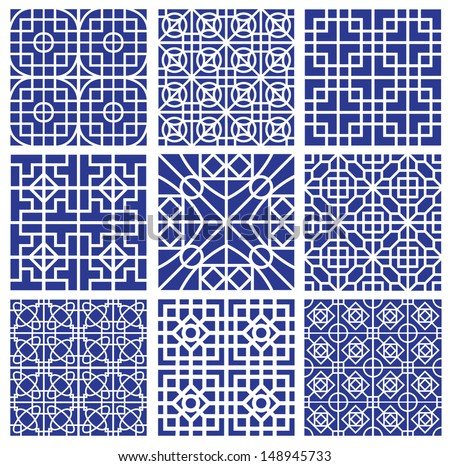 set of patterns for making