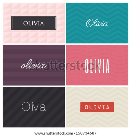 name olivia  graphic design
