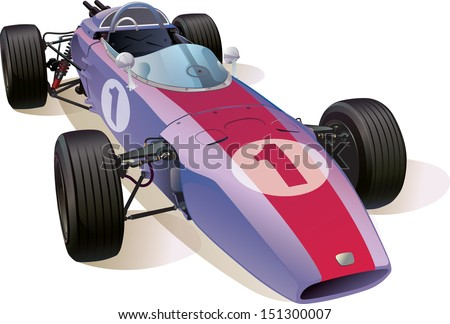 the rare formula one racing car