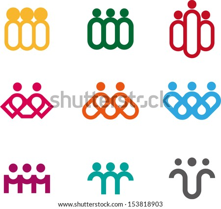 design people logo element
