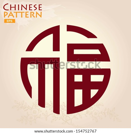 chinese pattern of