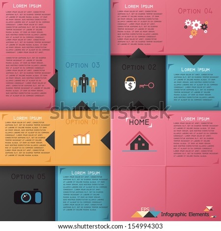 modern infographics options