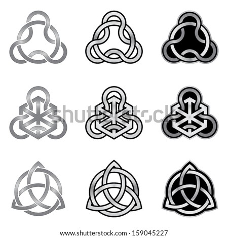 celtic knot elements patterns