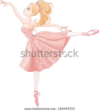 illustration of cute dancing