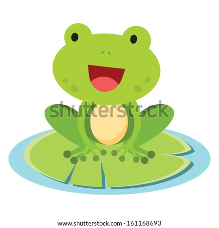 little frog vector