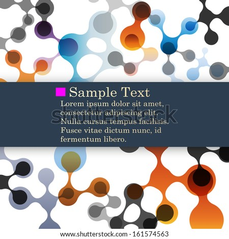 abstract molecule backgrounds