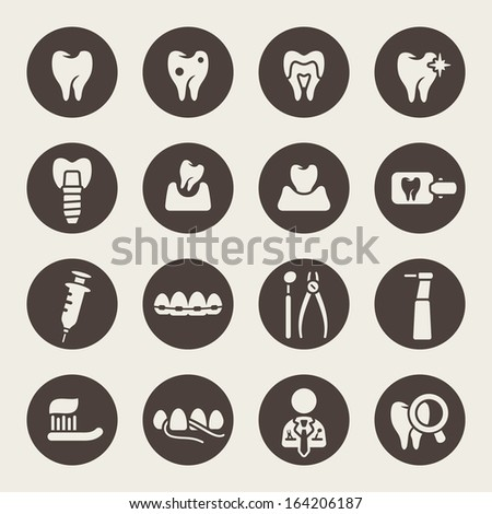 dental theme icons