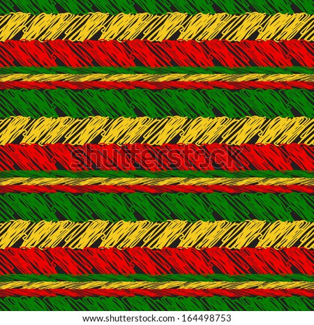 seamless pattern in rasta