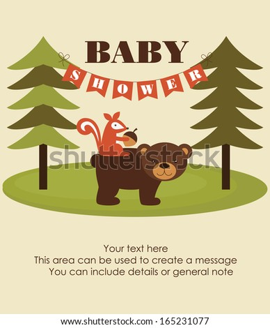forest baby shower theme