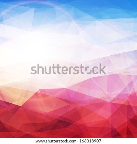 abstract background warm