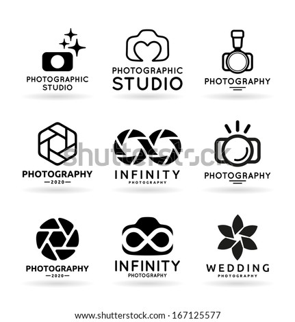 vector icons for photographers
