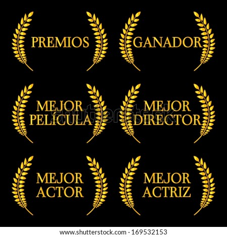 film winners laurels in spanish