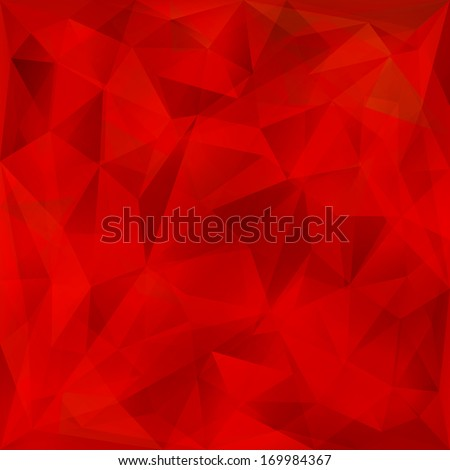 vector abstract bright red
