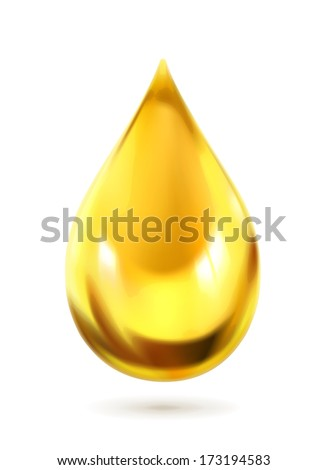 oil drop  vector icon